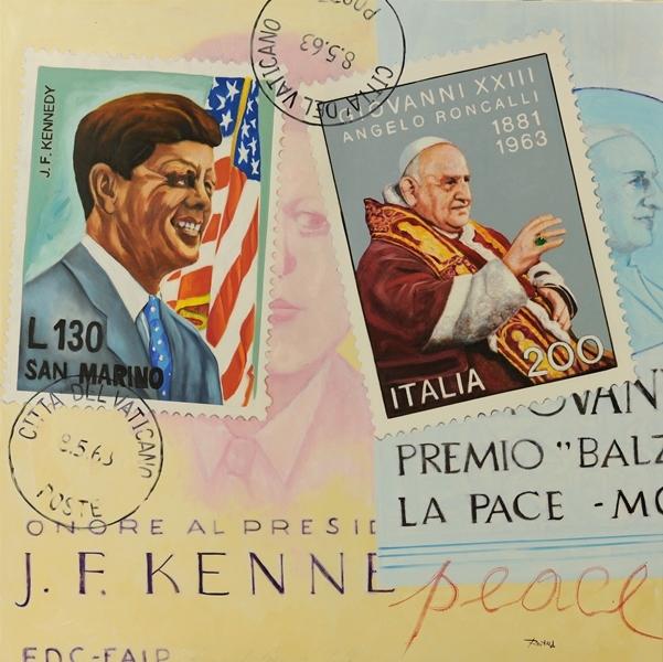 Pace, olio su tela 100x100, 2012