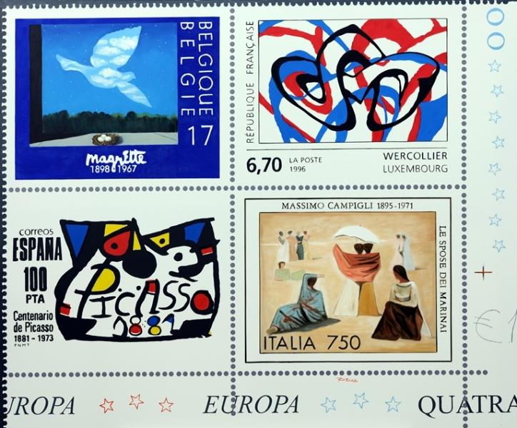 Quartina Europea, olio su tela 100x120, 2012