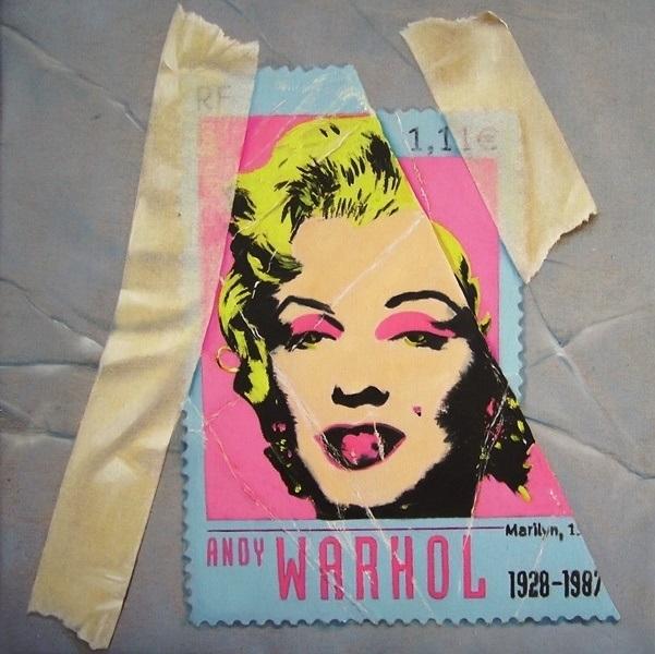Marilyn, olio su tela 40x40