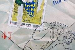 La busta di Picasso 50x70